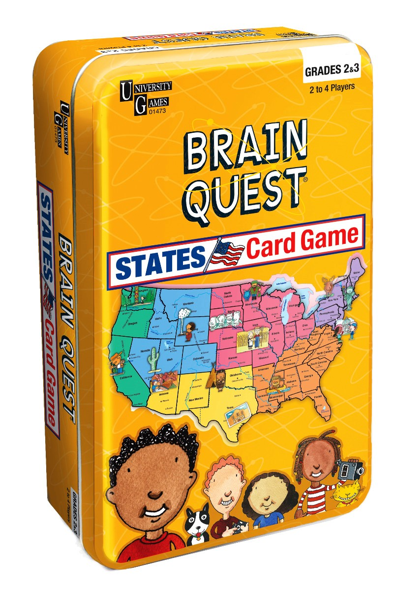 26212 - Brain Quest United States Game USA