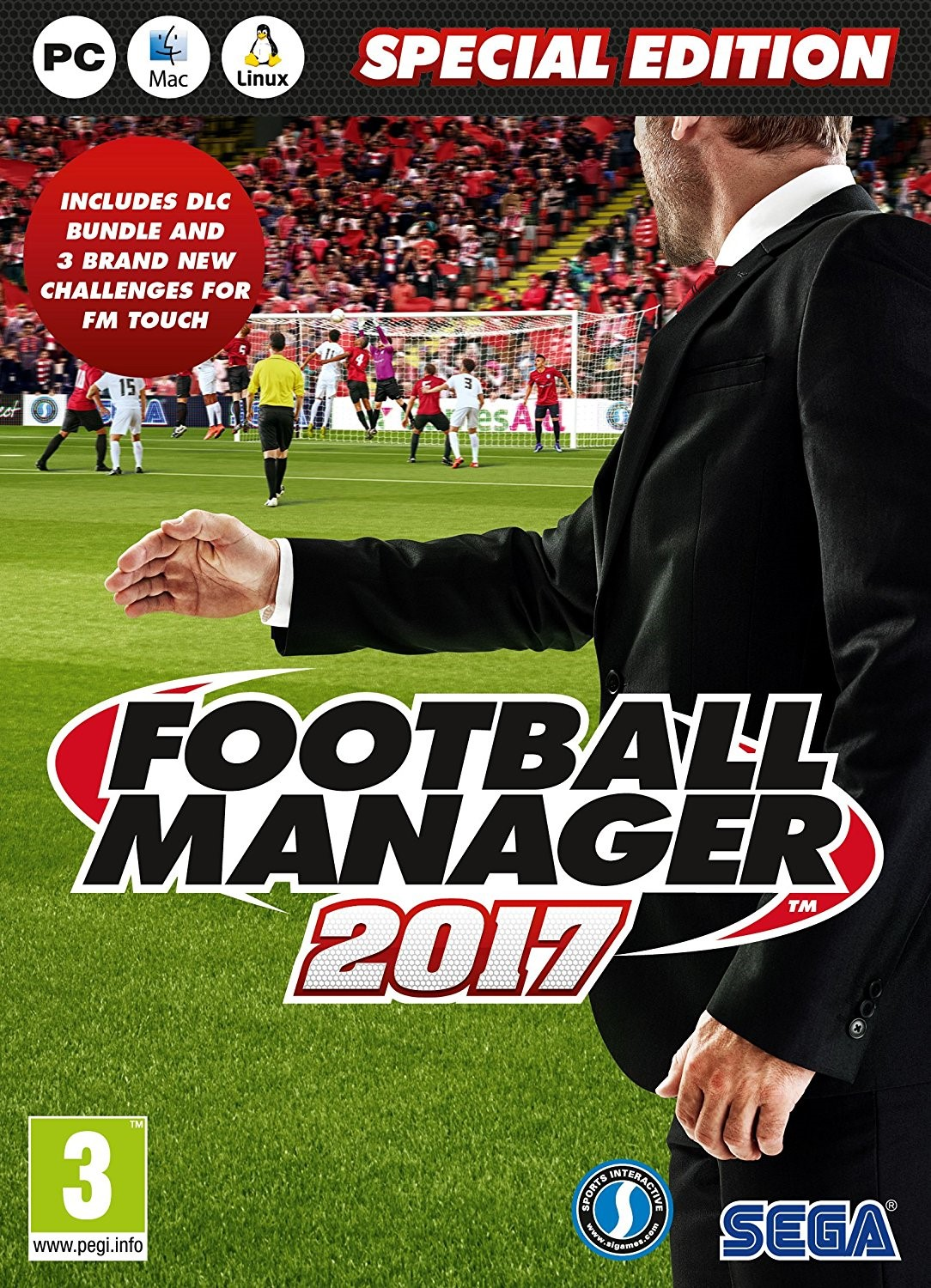 26215 - PC - FOOTBALL MANAGER 2017  - LIMITED EDITION Europe