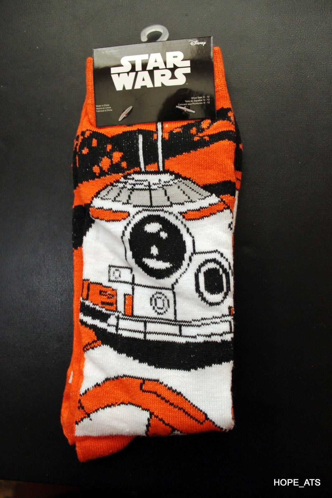 26989 - Star Wars BB8 Socks USA