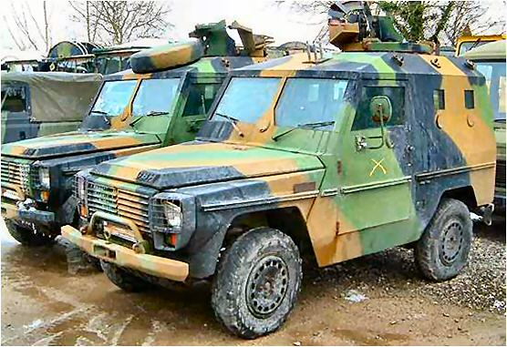 27440 - Armored P4 Peugeot to be used as CIT Europe