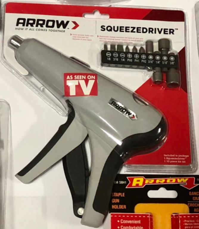 28624 - Arrow Squeeze Driver - As Seen on TV USA