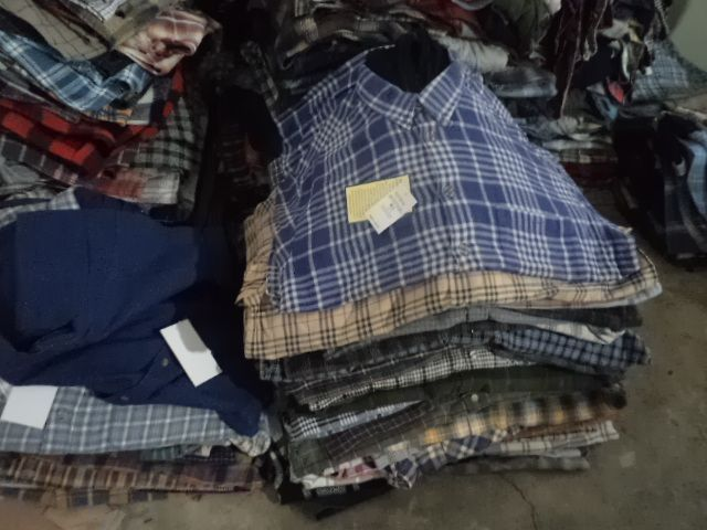 28981 - Refurbished MEN'S QUILTED LINED FLANNEL SHIRTS Pakistan