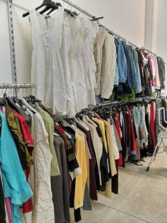 28984 - Women's and men's clothing stock Europe