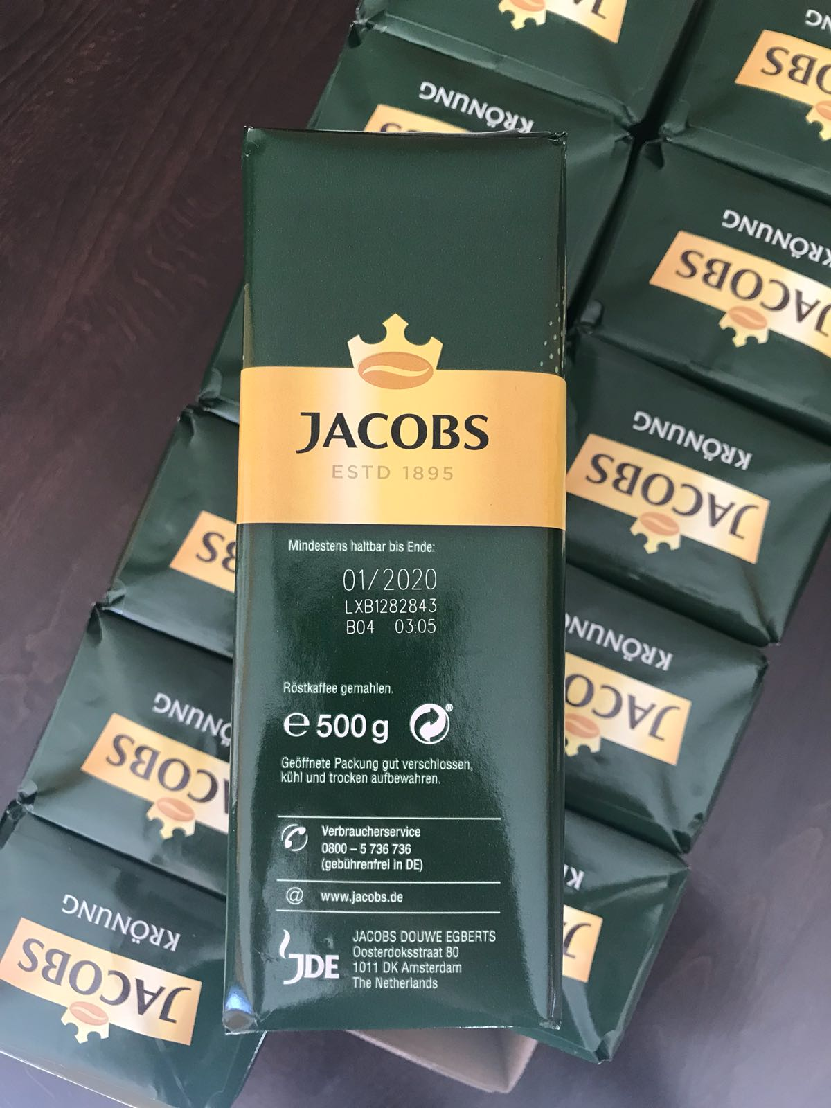 29951 - Jacobs Kronung 500 g Europe
