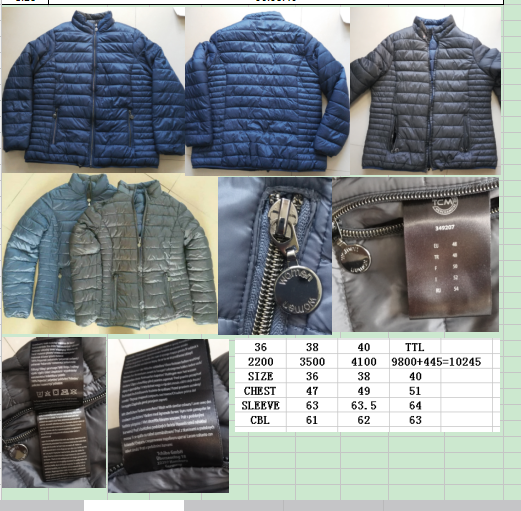 30368 - Woman reversible jacket stock China