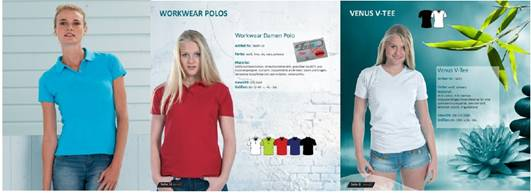 31398 - Women's Polo Shirt & T-shirt Europe