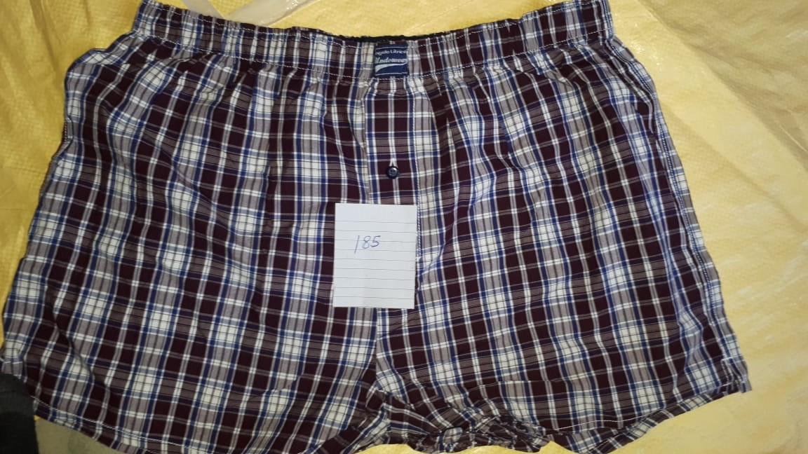 32144 - ANGELO LITRICO Men's Woven Boxer Shorts India