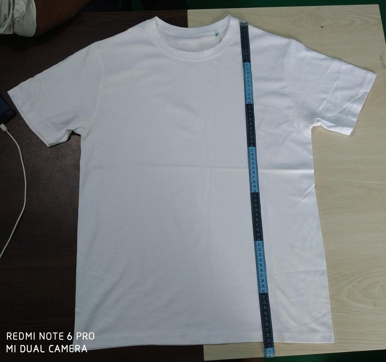 33326 - Men's white T shirt Bangladesh