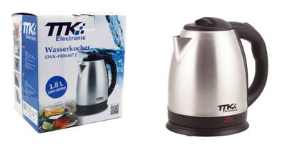 35100 - Stainless steel kettle Europe