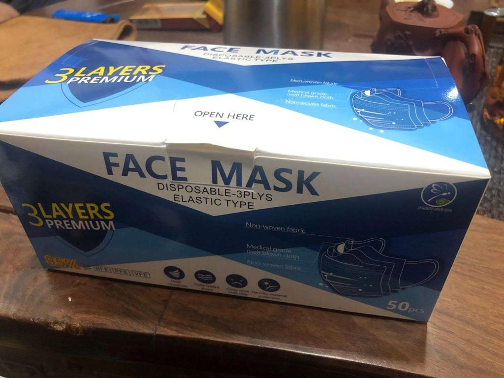36236 - 2,000,000 3-Ply FOB California (In-Stock) masks USA