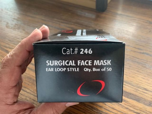 36238 - 3ply Surgical Mask. 33000pcs. FOB Los Angeles. Also have 520000 2ply USA