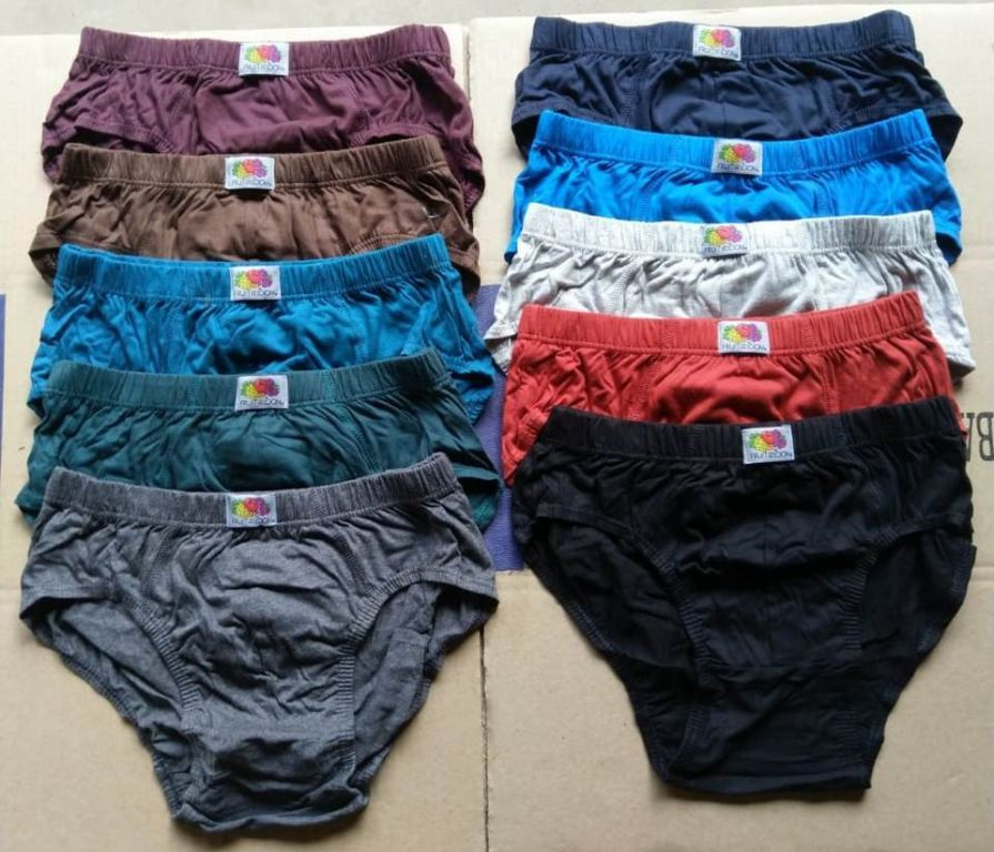 39859 - Fruit of the Loom (FOTL) Branded Mens Brief stock packed India
